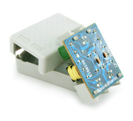 ADSL splitter electric circuit isolated