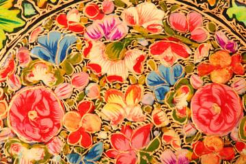 Drawn flowers background