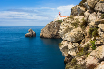 the end of the world, cap at Algarve, Portugal