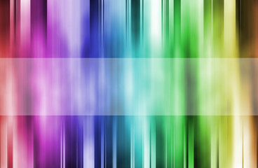 Background with colorful stripes
