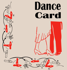Dance Card Background