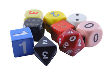 collection of unusual dice