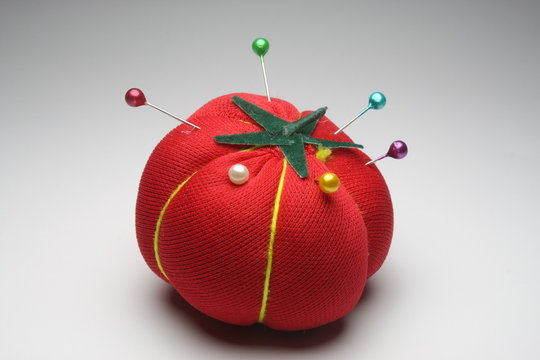 Red Tomato Pin Cushion