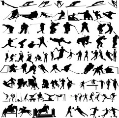 sport big collection - vector