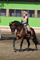 Equestrian sport: