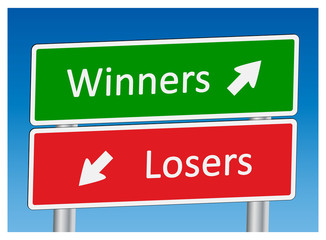 """Winners"" & ""Losers"" Signposts"