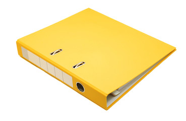 yellow binder