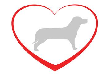 Herz für Hunde