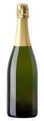Brut sparkling no label bottle - Brut senza etichetta