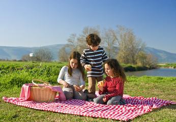 Foto auf AluDibond Picknick picnic