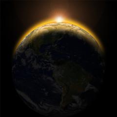 die schöne Erde