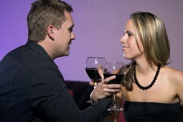 Happy Couple Romantic Date