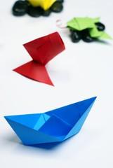 origami - bateau et autres