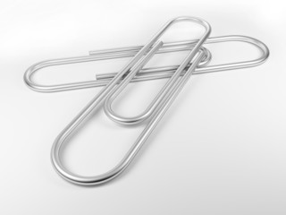 2 paper clips