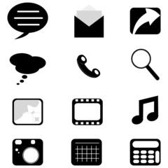 Web/Phone icons