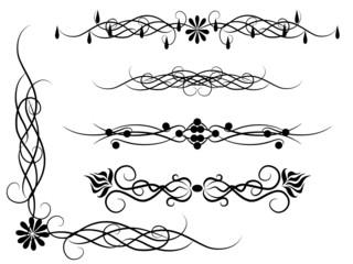 Set of patterns for design
