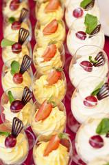 desserts glass