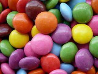 Fotorollo Süßigkeiten Colored sweets