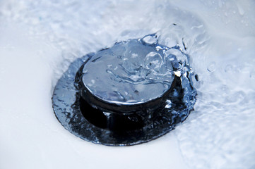 Water Running Down Plughole