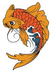 vector koi (fish)