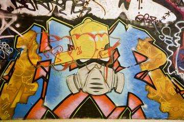 Graffiti mask