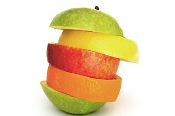 fette di frutta