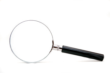 magnifier isolated on a white background