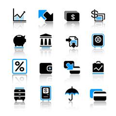 web banking icons