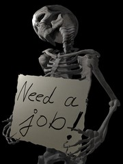 Skeleton need job.