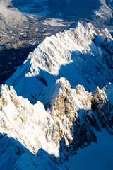 Alps in the winter
