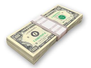 pack of money