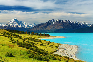 Wall Mural - Mount Cook