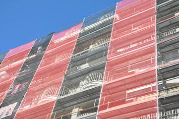 restauration de façade - travaux