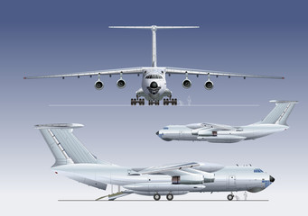 Vector delivery/cargo airplane