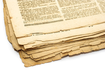 Papiers peints Journaux Vintage background - newspaper
