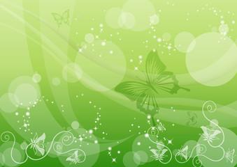 春のイメージ グリーン