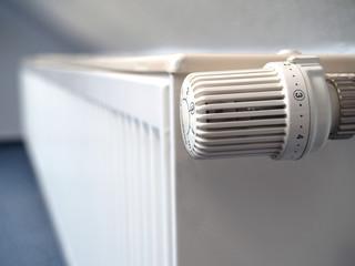 Heizkörper mit Thermostat