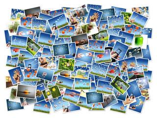 A lot of photos