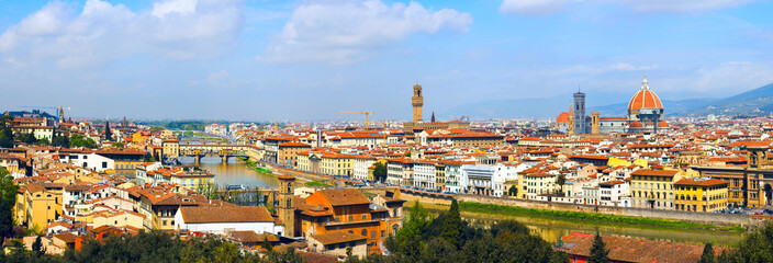 Panorama in Florence
