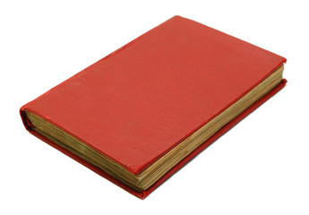 red old book