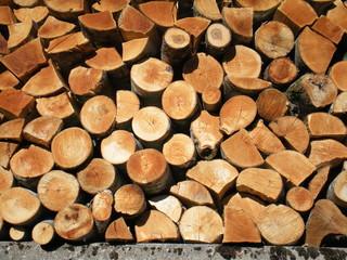 Photo sur Aluminium Texture de bois de chauffage Bois, Holz, Wood, Legno, עץ