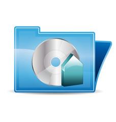 Burn backup icon folder