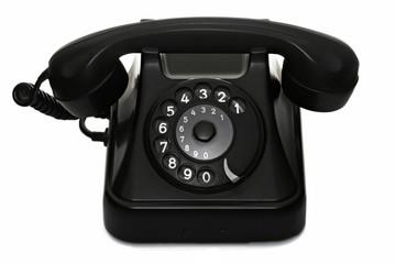 old vintage dial telephone black - more at my portfolio