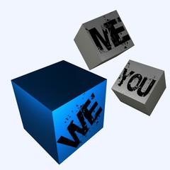 me, you, we....