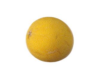 Fresh melon on white