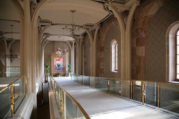 Interior of temple of Christ of Savior