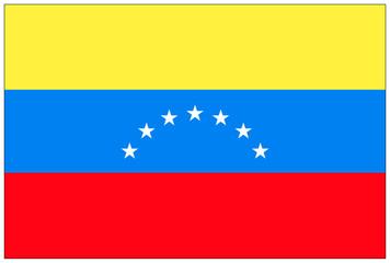 Fahne: Venezuela/ flag: Venezuela