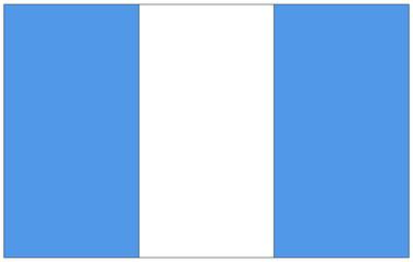 Fahne: Guatemala/ flag: Guatemala