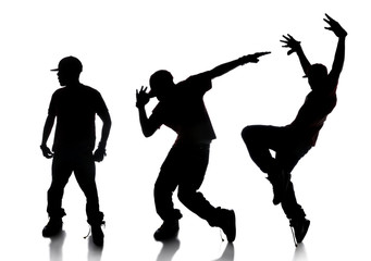 Sequence of Hip Hop Dancer