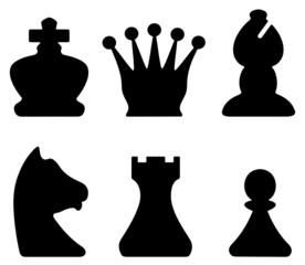 chessmen symbols